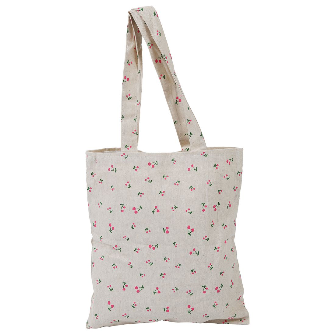 5 pcs of Cherry Pattern Fluid Systems Canvas Bag
