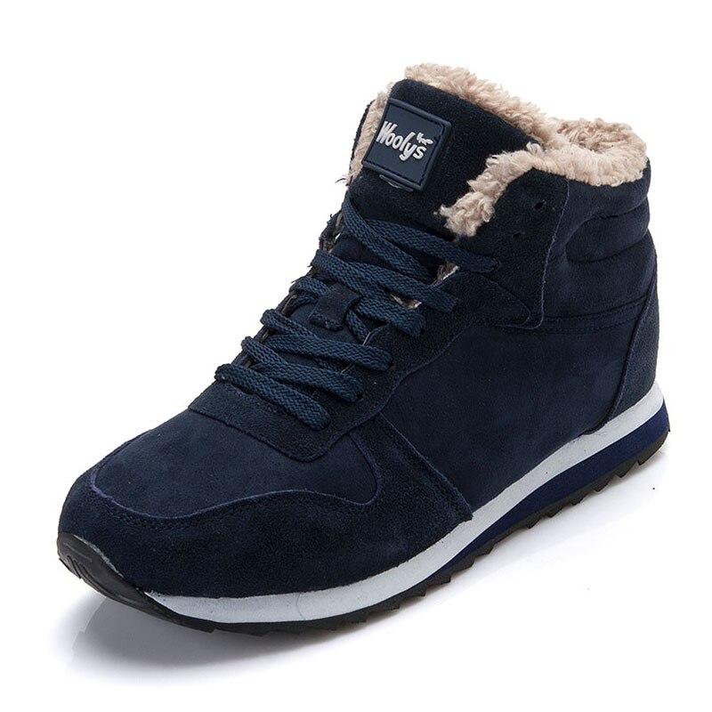 2019 novo inverno botas femininas botas de neve casual ankle boot inverno quente tênis mulher botas mujer mais tamanho 35-46