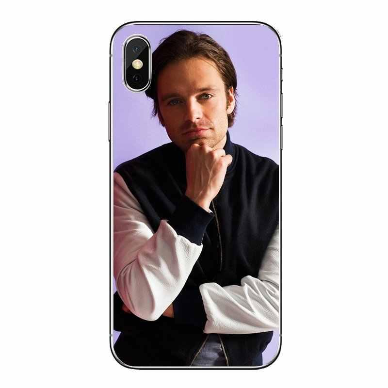 Для Nokia для детей возрастом 2, 3, 5, 6, 8, 9, 230 3310 2,1 3,1 5,1 7 Plus прозрачный мягкий чехол Чехлы Себастьян Стэн баки Барнс печати