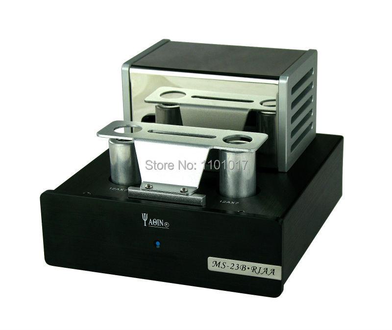 YaQin MS-23B 12AX7 Tube Phono stade pré-amplificateur HIFI EXQUIS vinyle platine pré-préamplificateur