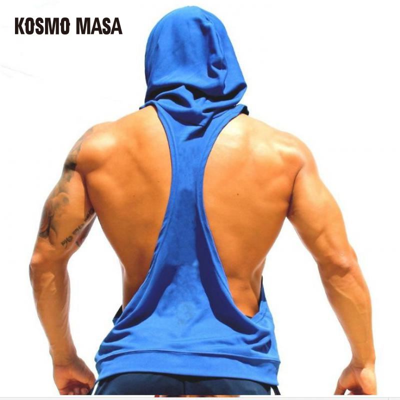 KOSMO MASA 2017 Skull ZYZZ Golds Bodybuilding Stringer Hoodies Stringer Men Hoodie Fitness   Tank     Top   Shark Golds Clothing MC0110