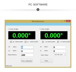 Image 4 - Witmotion sindt デュアル軸 ahrs 高精度角度傾斜スイッチ、デジタル出力、 IP67 防水、防振