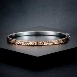 Image 2 - Pulsera de oro puro de 18K para mujer, brazalete de oro sólido auténtico AU 750, bonito y hermoso, joyería fina de fiesta clásica de lujo, producto en oferta 2020