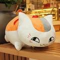 Hot 1pcs 35cm Cute Natsume Yuujinchou Nyanko Sensei Soft Plush Cat Anime Doll Toy Xmas Kids Toy Birthday & Christmas Gift