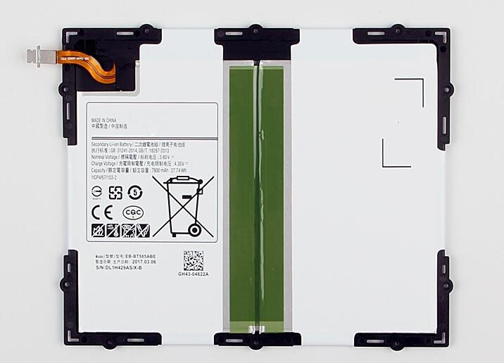 Jinsuli 7300mAh 27.74Wh EB-BT585ABE Replacement Battery For Samsung Glaxy Tablet Tab A 10.1 2016 SM-T585C T580 T585 T580N T585Jinsuli 7300mAh 27.74Wh EB-BT585ABE Replacement Battery For Samsung Glaxy Tablet Tab A 10.1 2016 SM-T585C T580 T585 T580N T585