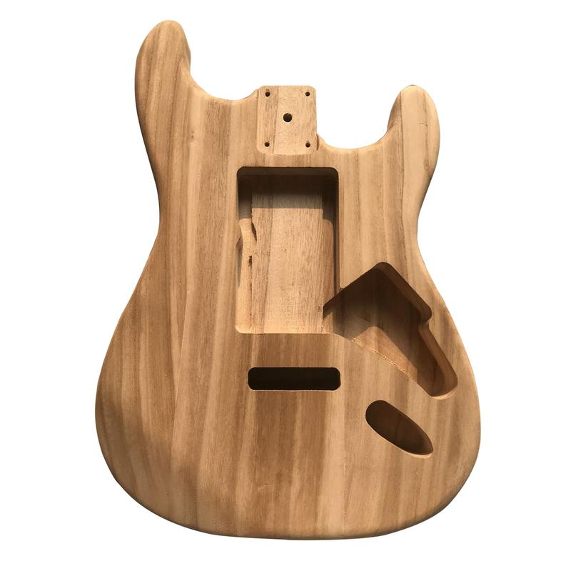Professional Electric Guitar Maple Wood Barrel Body ST Electric Acoustic Guitarra Barrel Musical Instrument Part & Accessories musical instrument accessories electric guitar accessories st electric guitar carved circuit tailpiece pickup line