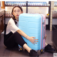 2019 trolley case universal wheel luggage female boarding student luggage suitcase 20 22 24 inch summer new