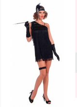 instyles free shipping zy1013 1920s sexy black flapper costume with gloves   180bfcc19752