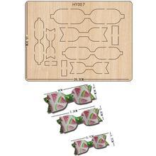 Matrices de découpe à nœuds, matrices de découpe et en bois, adaptées aux machines de découpe à matrice communes sur le marché, nouveauté 2019