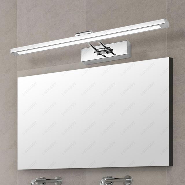 8W 12W 16W LED SMD 2835 Acrylic Wall Mount Light Fixture Bathroom Mirror Front