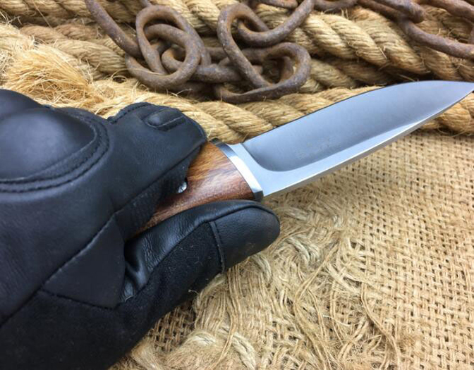 Hunting Fixed Knife 440 Blade Steel+Wood Handle Camping Tactical Knife Utility Survival Tool With Nylon Sheath