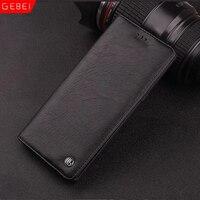 Luxury Original Brand GEBEI Leather Flip Unique Magnet Design Stand Case For Samsung Galaxy Note 8