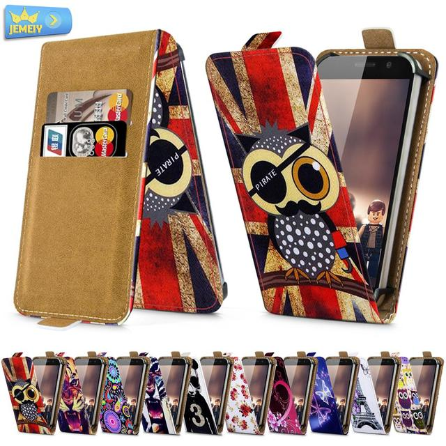 For MPIE S960 Knigzone Z1 Bluboo X550 Universal High Quality Printed Flip PU Leather Cell Phones Case Cover Large Size