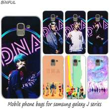 BTS DNA Hot Fashion Hard Phone Cover Case for Samsung J2 J3 J5 J4 J6 J7 J8 2018 2016 J7 2017 EU J6 Prime Cover(China)