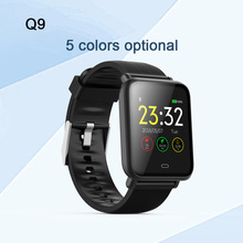 Q9 Smartwatch Waterproof Sports For Android / IOS With Heart Rate Monitor Blood Pressure Functions Smart Watch