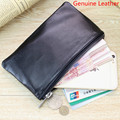 New Mini bag leather coin purse header layer sheepskin wallet genuine leather money holder men women wallet