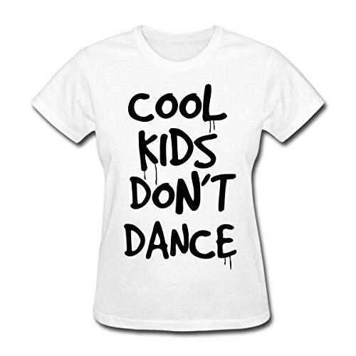 Cool Kids Dont Dance Womens T-Shirt Design Tops Hot Sales Tee Shirts Women Brand Clothing New WomenS T Shirts Top Tee