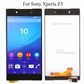 5.0 ''ЖК-Дисплей Для Sony Xperia Z5 E6603 E6633 E6653 E6683 Сенсорный экран планшета Ассамблея + Клей + Инструменты, бесплатная доставка