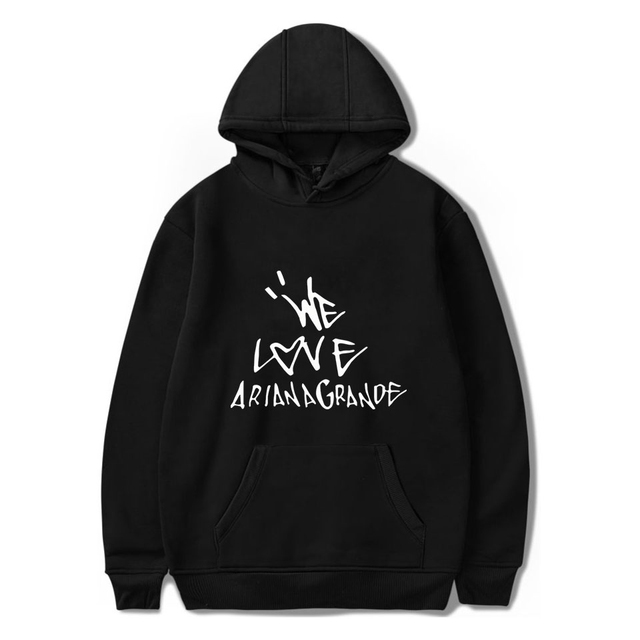 WE LOVE ARIANA GRANDE HOODIE (25 VARIAN)