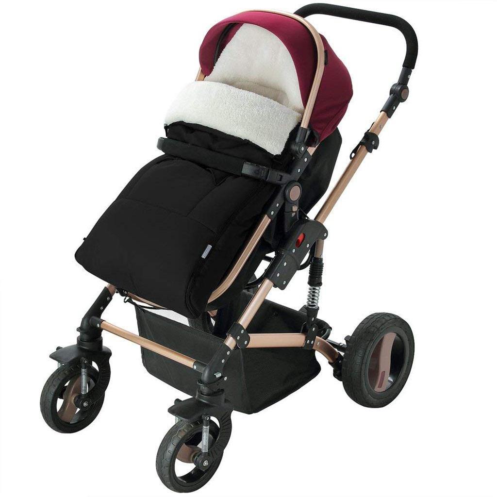 Image 4 - Детская коляска, спальный мешок, конверт для коляски, теплый толстый спальный мешок, универсальная муфта для ног, удобный фартук для коляски-in Спальники from Мать и ребенок
