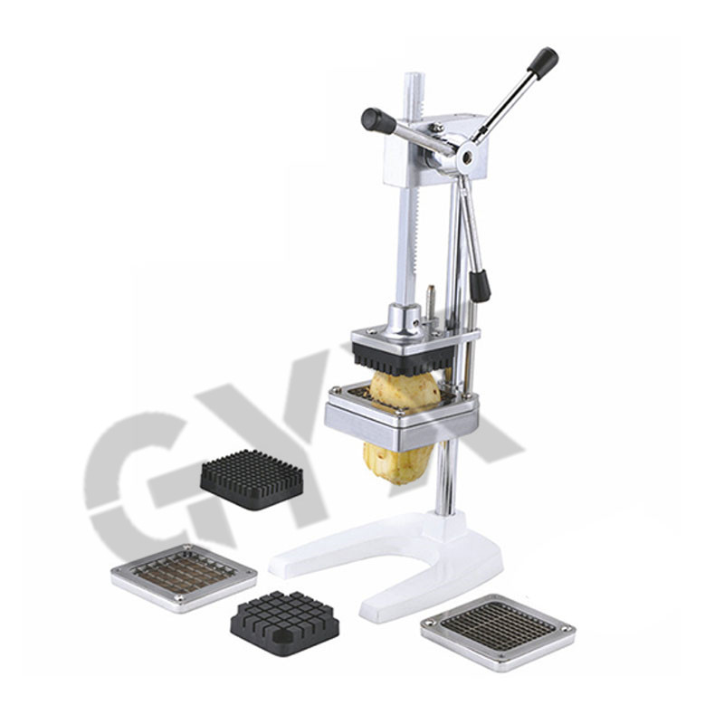 Commercial Stainless Steel Cutting Fries Machine Household Vertical Fries Machine Manual Cutting Device Fries Machine