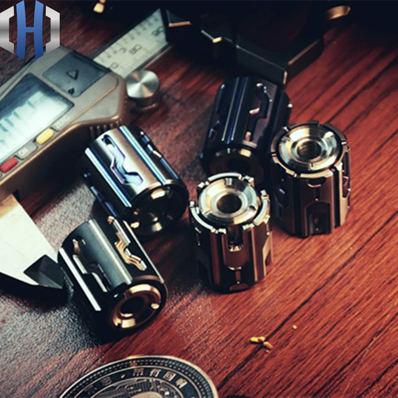Knife Beads Titanium Alloy Mini Fingertip Gyro Accessories Adult Toy Personality Decompression EDC