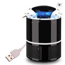 Анти москитный светодиодный USB Электрический москитный убийца лампа УФ ночной Светильник СВЕТОДИОДНЫЙ ловушка для насекомых анти-Муха Москитная Zapper Muggen Killer Lampe