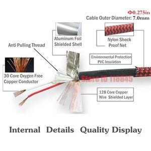 Двойной 1/4 моно TS 6,35 мм папа к двойному XLR Женский аудио кабель усилитель миксер микшерные консоли Система домашнего кинотеатра 1 м 2 м 3 м 5 м