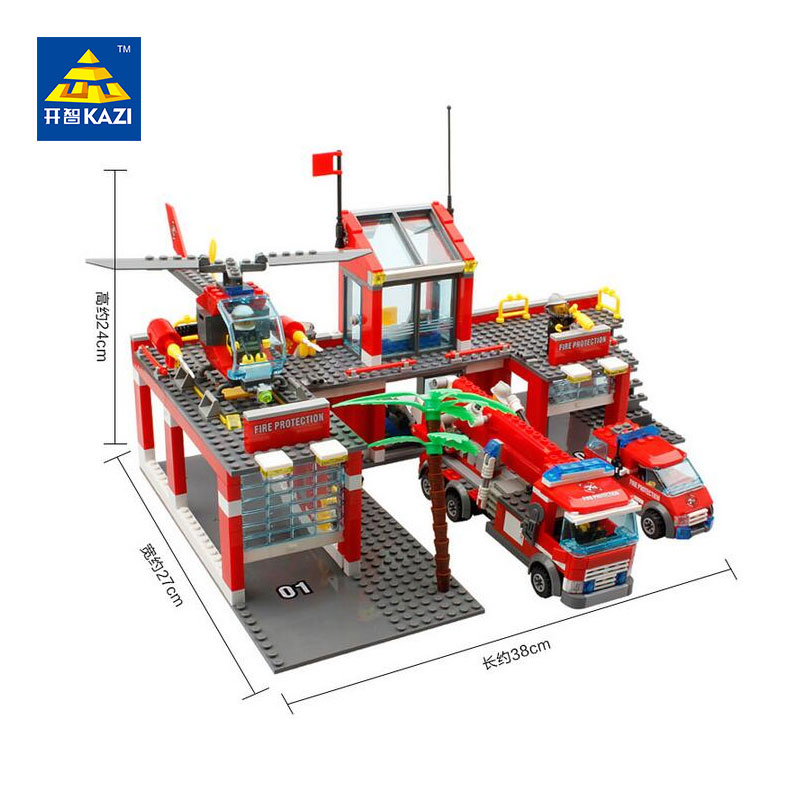 2017-Kazi-City-Emergency-Rescue-Fire-Station-Blocks-774pcs-Bricks-Building-Blocks-Sets-Education-Toys-For (1)