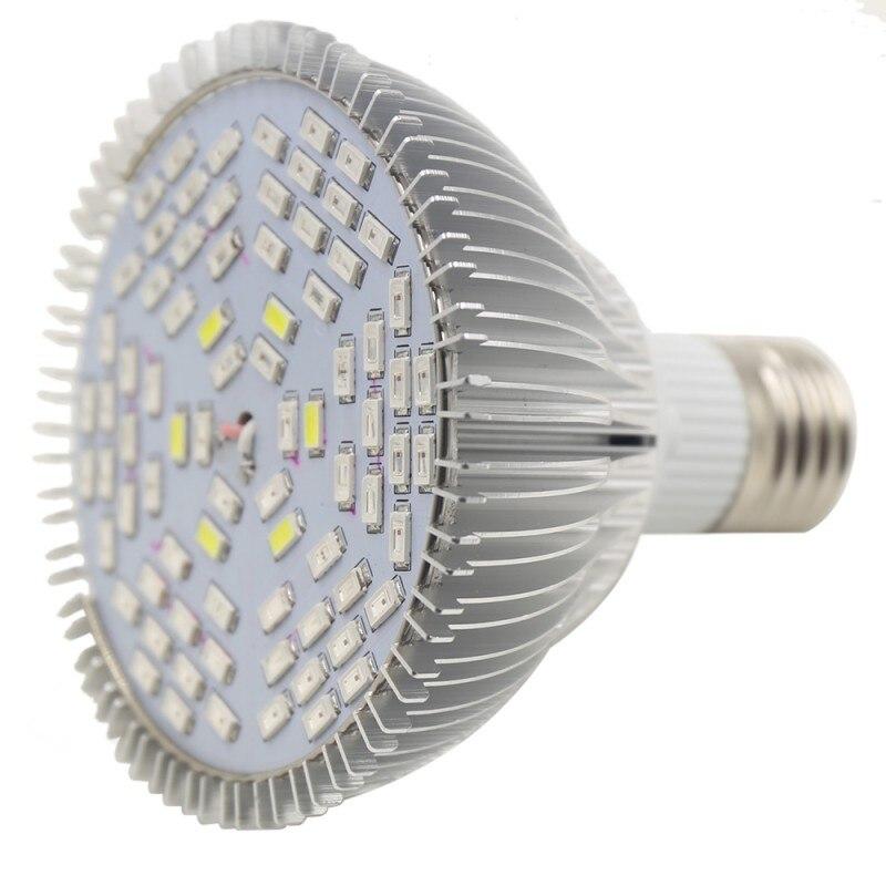 78 LED Lights E27 AC 85~265V 50W Grow Lights For Aquarium Flower Plant Hydroponics System RZ04