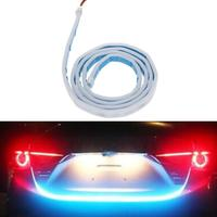 VODOOL Car Style RGB LED Lighting Trunk Rear Tail Lights Vehicle Rear Back Turn Signal Lamp