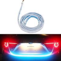 VODOOL Car Style RGB LED Lighting Trunk Rear Tail Lights Vehicle Rear Back Turn Signal Lamp
