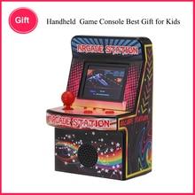 Video oyunu Taşınabilir Retro El video oyunu Konsolu 8 bit 240 Klasik oyun makinesi Mini Arcade Oyunları gerek gamepad