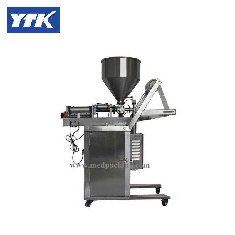 Automatic filling machine quantitative slurry paste filling machine ,liquid packaging machine grind