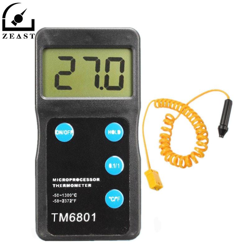 Digital High Thermometer Pyrometer Temperature Sensor Hygrometer Tool Measurement Analysis Instruments Meter Tools