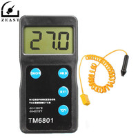 Digital High Thermometer Pyrometer Temperature Sensor Hygrometer Tool Measurement Analysis Instruments Meter Tools