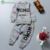 0-2 T ropa de Bebé niña de invierno de graffiti impresión de La Moda de Primavera bebé Recién Nacido ropa de la Muchacha de Manga Larga Ropa infantil