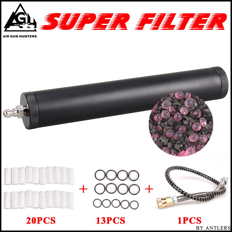 High Pressure Pcp Air Filter Oil-water Separator For High Pressure Pcp Compressor 4500psi 30Mpa 300bar Air Electronic Pcp Pump