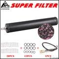 Hoge druk Pcp luchtfilter Olie-water Separator Voor Hoge Druk pcp compressor 4500psi 30Mpa 300bar Lucht Elektronische Pcp pomp