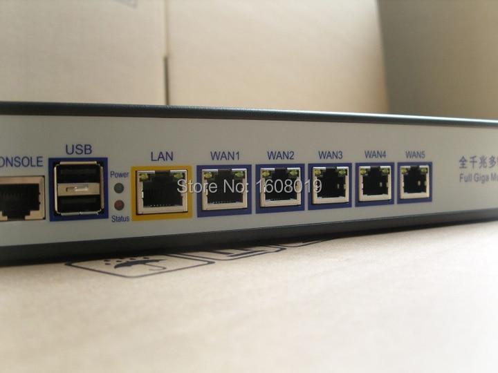 Network server firewall router barebone 1U with Celeron C1037U support ROS  Mikrotik PFSense Panabit Wayos Monowall hi spider etc-in Firewall & VPN