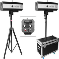 High quality 330W Lumen led follow spot beam stage light with holder and flight case wedding stage lighting show dj equipment
