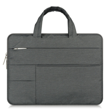 Multi-use Fashion Canvas Laptop Briefcase Case Hand Bag for Macbook Pro Air Retina Lenovo HP Computer NoteBook Liner Sleeve