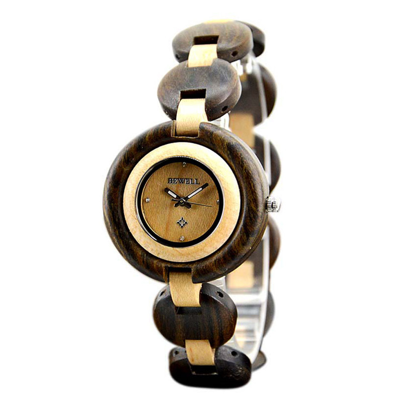 Wood Watch Ladies Watches 2017 Luxury Brand Women's Quartz-Watch Fashion Clock Female Wristwatch Montre Femme Relogio Feminino luxury brand kimio women watches new fashion ladies quartz watch relogio feminino classic big dial clock wristwatch montre femme