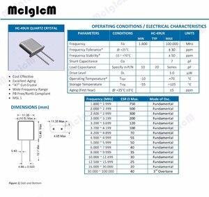Image 3 - 10 個 49U HC 49U 10MHz エラー 20ppm 20pF クォーツ共振器