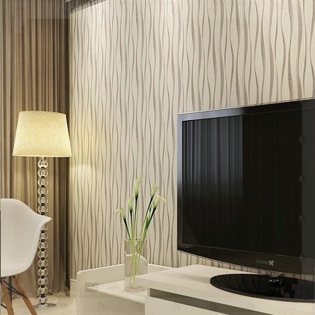 PVC Embossed Modern Wallpaper 3d Background Wall Wallpaper For Living Room  Wall Papers Home Decor Bedroom Part 67