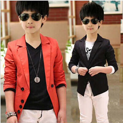 c36887bfd51f boy kid casual teenage boy blazer children boy blazer jacket solid color  single breasted classic fashion for boy wedding NB33