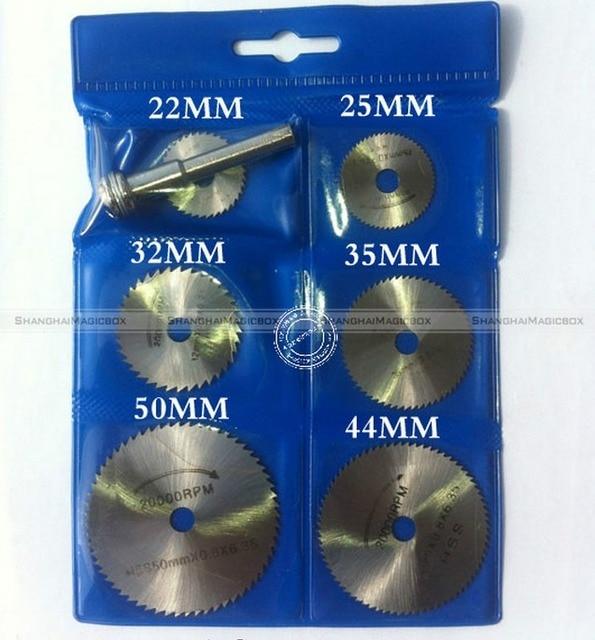 New 7pcs HSS Saw Blades For Metal Dremel Rotary Tool Saw Disc Wheel Blade SMB