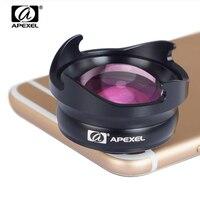 APEXEL phone camera Lens 2.5X telephoto zoom lens Professional HD Portrait bokeh lente for iPhone lens more telephone 70mm