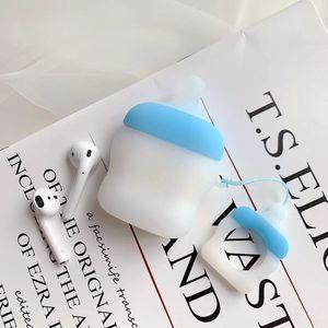 Image 5 - علبة سماعات لاسلكية مزودة بتقنية البلوتوث لأجهزة Apple AirPods للأغراض العامة مصنوعة من السيليكون للشحن مزودة بغطاء واقي