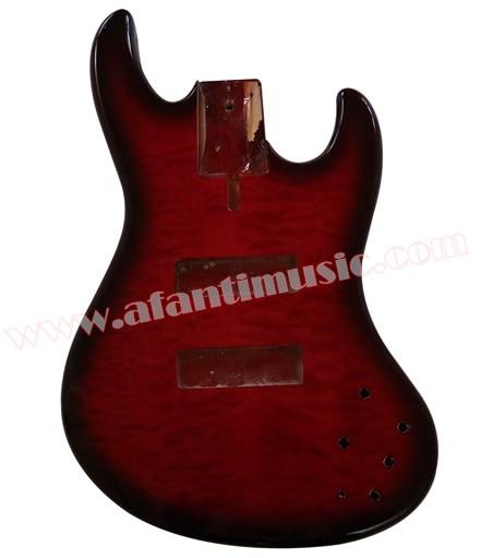 Afanti Music DIY Bass DIY Electric Bass guitar Body (AQT-012) afanti music prs diy guitar kit prs style electric guitar apr 727